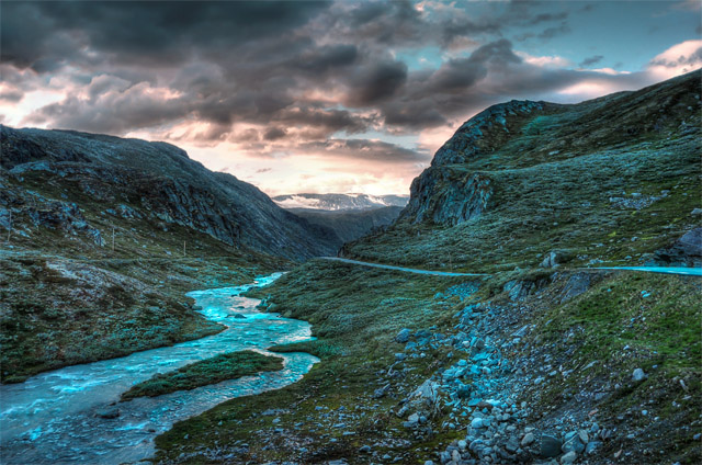 hdr-bild-big-river-norwegen