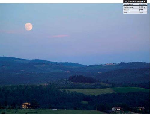 Landschaften zur blauen Stunde