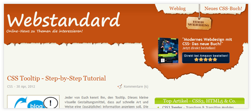 Webstandard-Blog