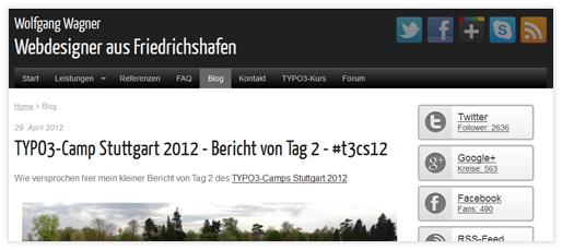 Wolfgang Wagner - Webdesigner aus Friedrichshafen