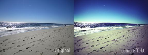 Photoshop Lomo-Effekt: Direktvergleich Beispiel 1
