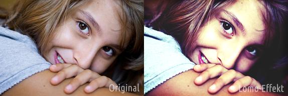 Photoshop Lomo-Effekt: Direktvergleich Beispiel 2