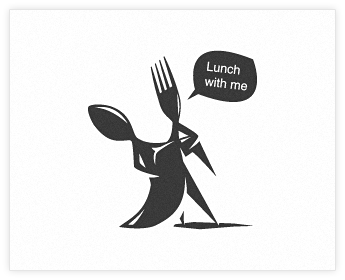 Logodesign Inspiration: Lunch with me