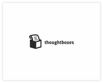 Logodesign Inspiration: thoughtboxes