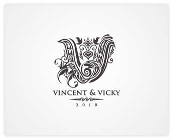 Logodesign Inspiration: Vicky and Vincent