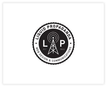 Logodesign Inspiration: Liquid Propaganda