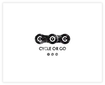 Logodesign Inspiration: COG - Cycle or Go