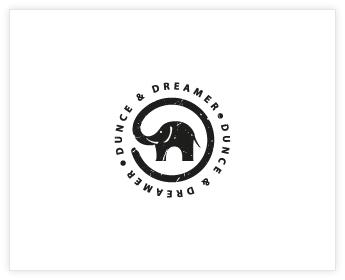 Logodesign Inspiration: Dunce & Dreamer