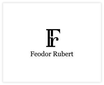 Logodesign Inspiration: Feodor Rubert
