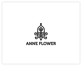 Logodesign Inspiration: Anne Flower
