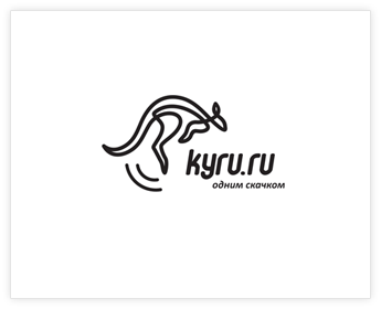 Logodesign Inspiration: kyru.ru (with a bounce)