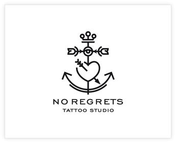 Logodesign Inspiration: NR - tattoos