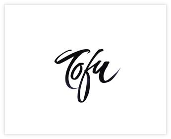 Logodesign Inspiration: Tofu - product brand