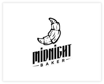 Logodesign Inspiration: Midnight Baker
