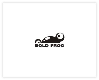 Logodesign Inspiration: bold frog