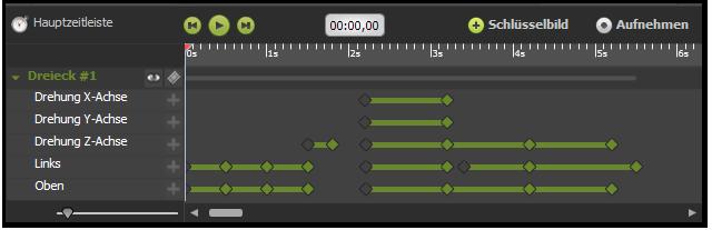 A5 HTML5 Animator Timeline