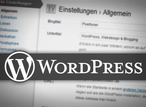 WordPress: Worauf Du achten solltest, Bevor Du mit dem Schreiben beginnst
