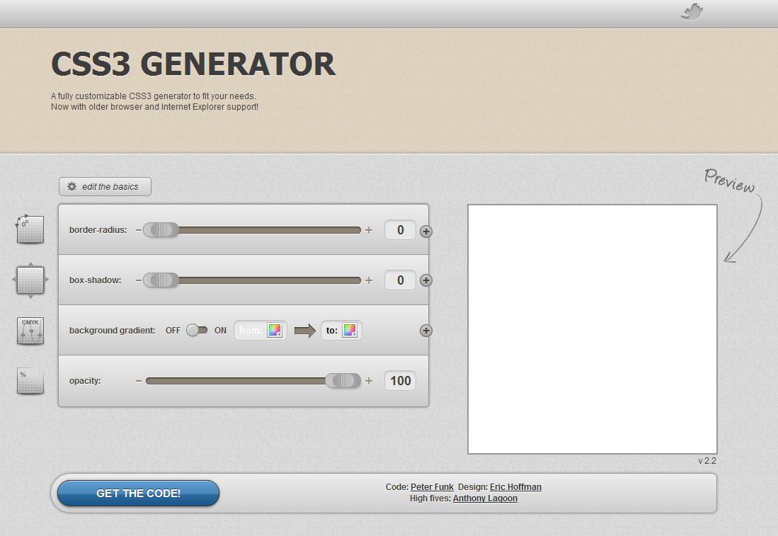 30 hilfreiche CSS3 Online-Tools