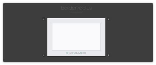 border-radius Generator von border-radius.com