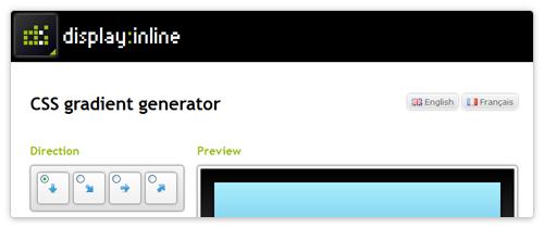 Gradient Generator von www.display-inline.fr