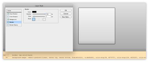 CSS Online Generator von layerstyles.org