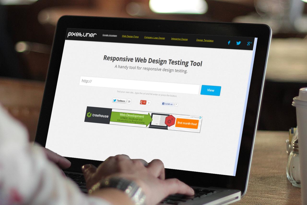 Responsive Web Design Testing Tool Pixeltuner De