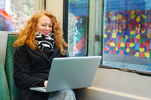 Bürosoftware für Webdesigner ideal, um von Unterwegs offene Rechnungen zu checken.