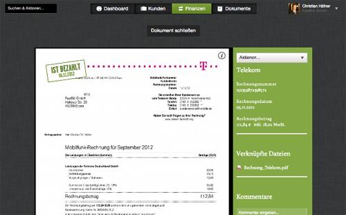 FastBill Buchhaltungssoftware: Rechnungen schreiben
