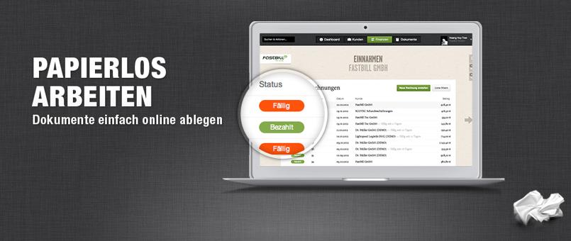 Webbasierte Buchhaltungsoftware FastBill im Toolcheck