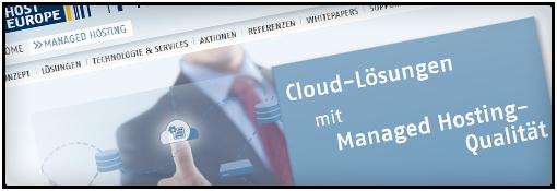 Host Europe GmbH im Webhosting Vergleich
