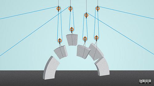 Bild symbolisiert den technischen Schritt beim Webdesign-Prozess