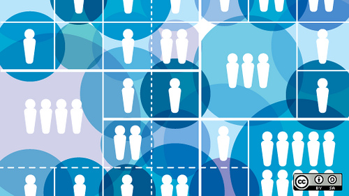 Bild visualisiert die Projektplanung und Kommunikation auf globaler Ebene beim Webdesign-Prozess
