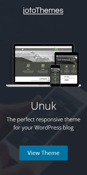 Unuk - The perfect responsive theme for your WordPress blog
