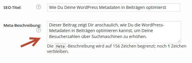 wordpress-meta-beschreibung