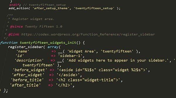 Beim neuen WordPress-Theme auf Widget-tauglichkeit achten