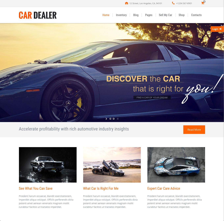 02-car-dealer-startseite