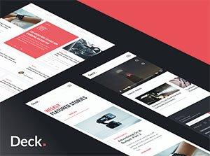 Deck: Ein kostenloses Card-Style UI-Kit
